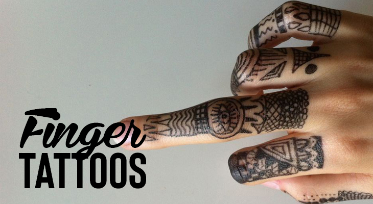 Everything You Need To Know About Finger Tattoos