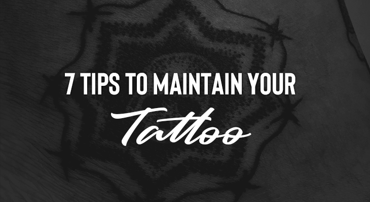 7 Tips To Maintain Your Fading Tattoo